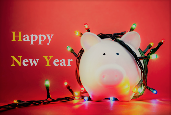 New year Piggy